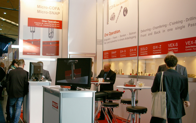 Deburring Expo_Heule Stand