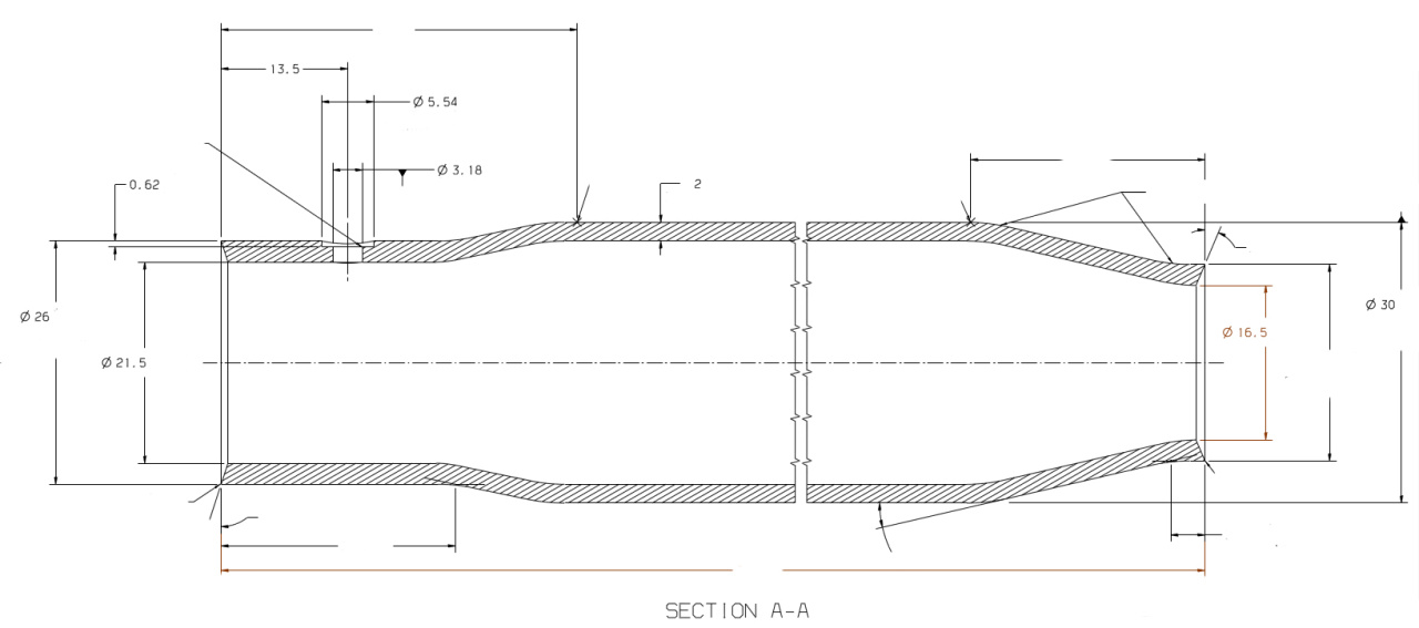Application drawing of Chamber