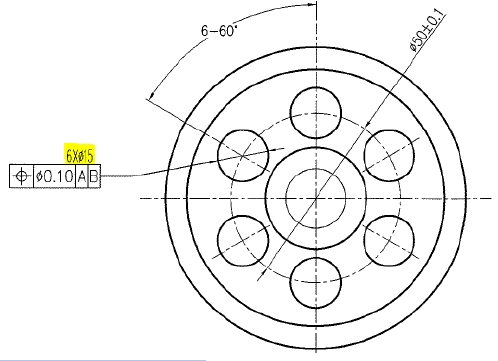 Gear disc drawing 1
